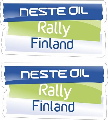 Picture of Neste Oil Rally Finland Decals / Stickers