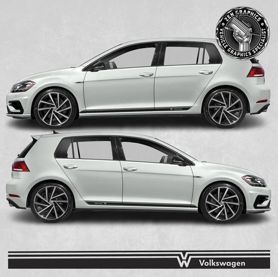 Picture of Golf MK7 side Stripes / Stickers