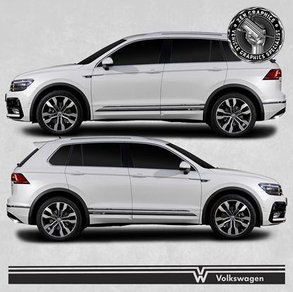 Picture of Tiguan side Stripes / Stickers