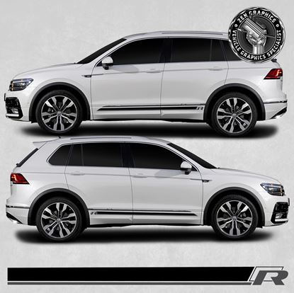Picture of Tiguan R side Stripes / Stickers