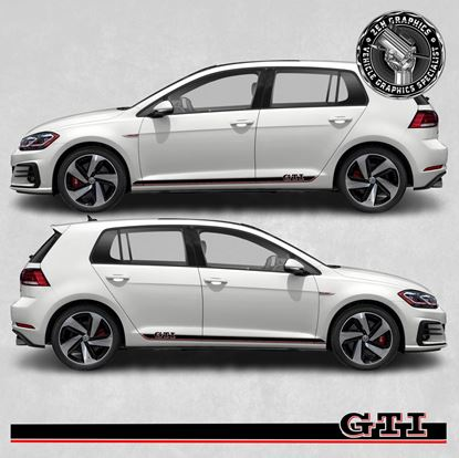 Picture of Golf GTI MK7 side Stripes / Stickers