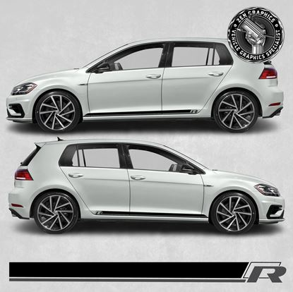 Picture of Golf R side Stripes / Stickers