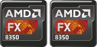 Picture of AMD FX 8350 Gel Badges