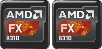 Picture of AMD FX 8310 Gel Badges