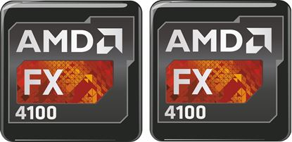 Picture of AMD FX 4100 Gel Badges