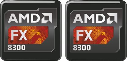 Picture of AMD FX 8300 Gel Badges