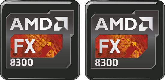 Picture of AMD FX 8300 Gel Badges