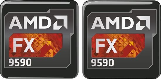 Picture of AMD FX 9590 Gel Badges