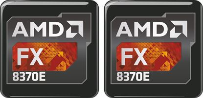 Picture of AMD FX 8370E Gel Badges