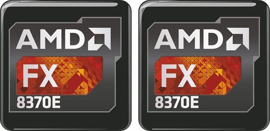 Picture of AMD FX 8370E Gel Badges