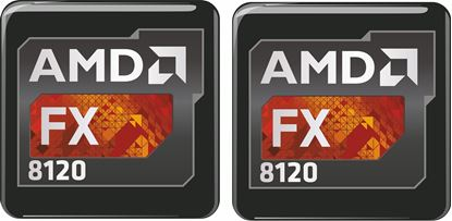 Picture of AMD FX 8120 Gel Badges