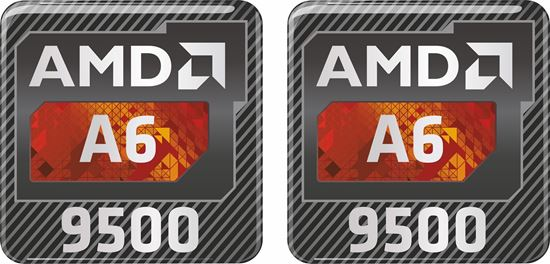 Picture of AMD A6 9500 Gel Badges