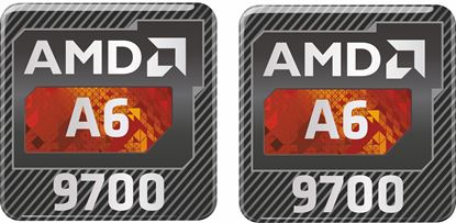 Picture of AMD A6 9700 Gel Badges
