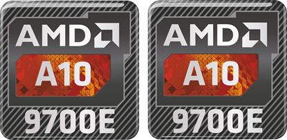 Picture of AMD A10 9700E Gel Badges