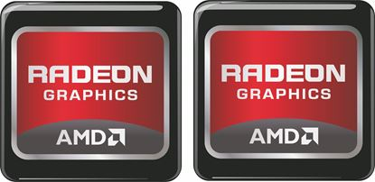 Picture of AMD Radeon Graphics Gel Badges
