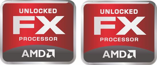 Picture of AMD FX Unlocked Processor Gel Badges