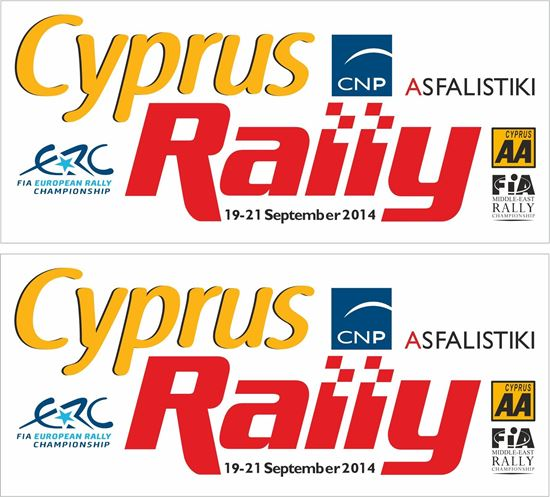 Picture of Cyprus Rally Decals / Stickers