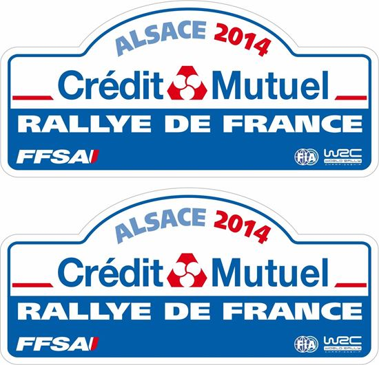 Picture of Rallye De France Decals / Stickers