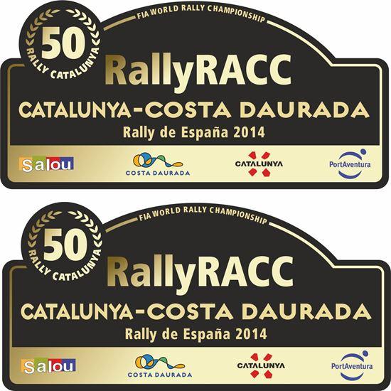 Picture of Rally RACC Catalunya - Costa Daurada Decals / Stickers