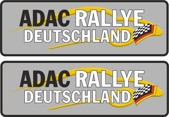 Picture of Adac Rallye Deutschland Decals / Stickers
