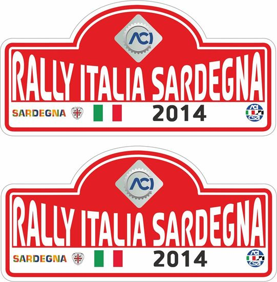 Picture of Rally Italia Sardegna Decals / Stickers