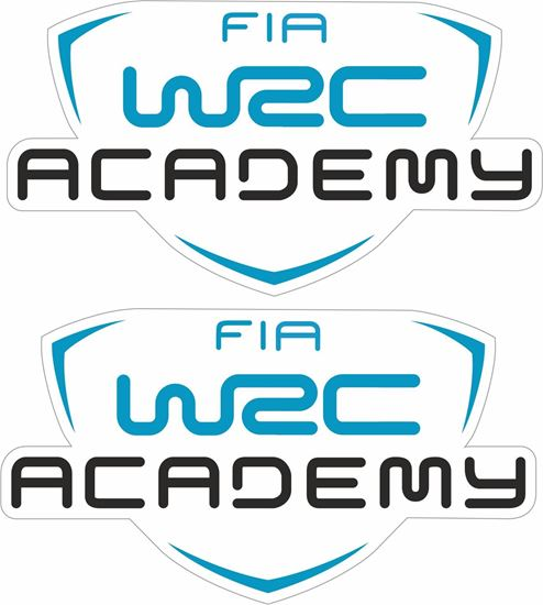 Picture of WRC FIA Academy Decals / Stickers