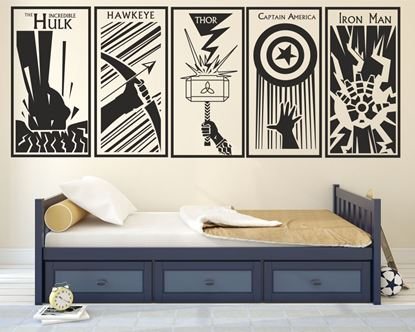 Picture of Avengers Wall Art sticker