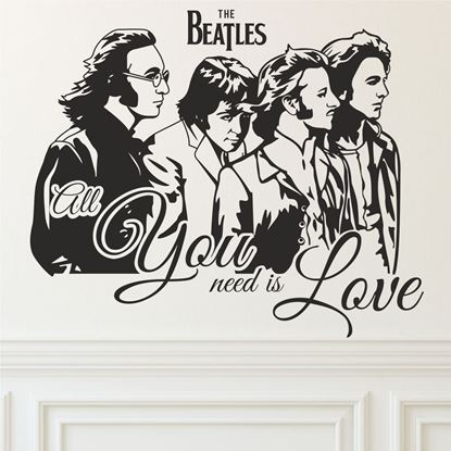 Picture of The Beatles Wall Art sticker