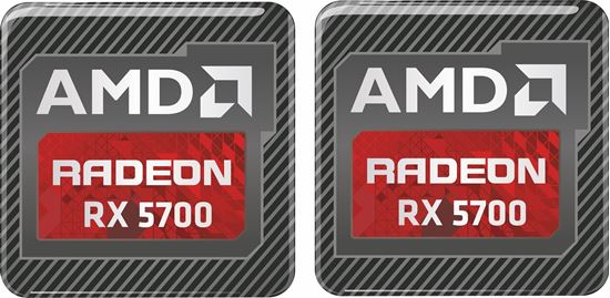 Picture of AMD Radeon RX 5700 Gel Badges
