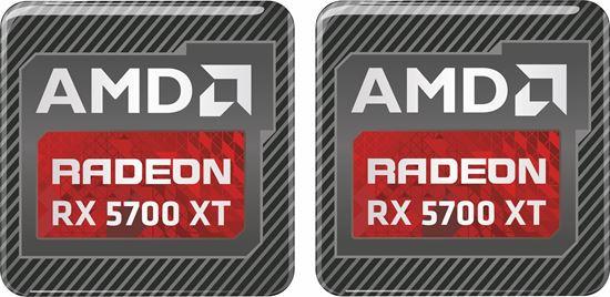 Picture of AMD Radeon RX 5700 XT Gel Badges