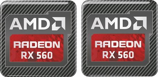 Picture of AMD Radeon RX 560 Gel Badges