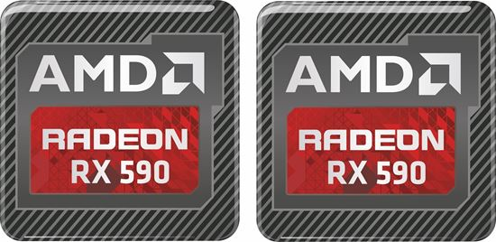 Picture of AMD Radeon RX 590 Gel Badges