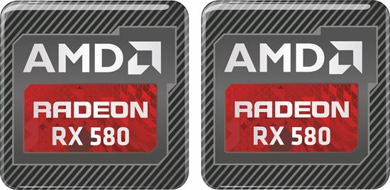 Picture of AMD Radeon RX 580 Gel Badges