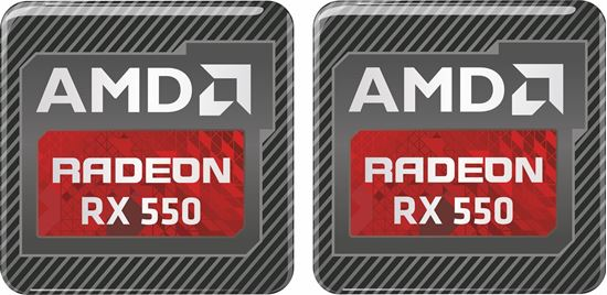 Picture of AMD Radeon RX 550 Gel Badges