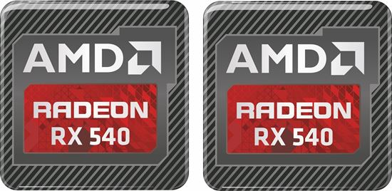 Picture of AMD Radeon RX 540 Gel Badges