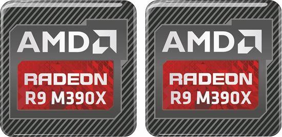 Picture of AMD Radeon R9 M390X Gel Badges
