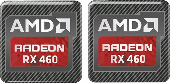 Picture of AMD Radeon RX 460 Gel Badges