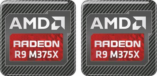 Picture of AMD Radeon R9 M375X Gel Badges