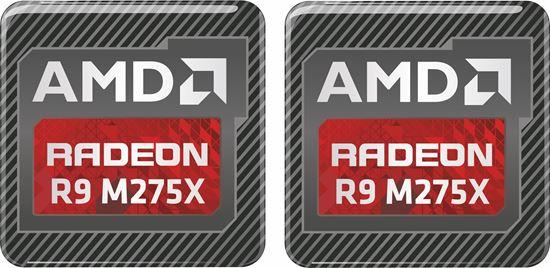 Picture of AMD Radeon R9 M275X Gel Badges