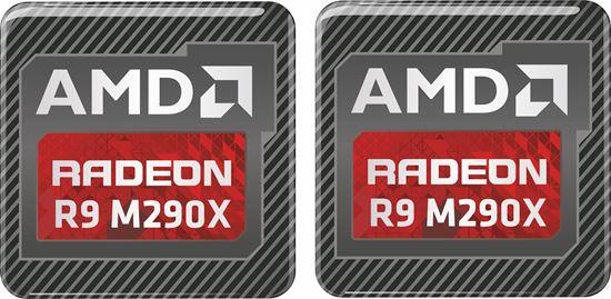 Picture of AMD Radeon R9 M290X Gel Badges