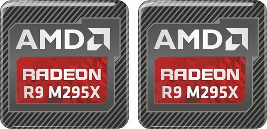 Picture of AMD Radeon R9 M295X Gel Badges