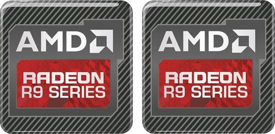 Picture of AMD Radeon R9 Series Gel Badges