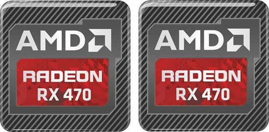 Picture of AMD Radeon RX 470 Gel Badges
