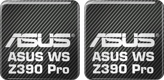 Picture of Asus WS Z390 Pro Gel Badges