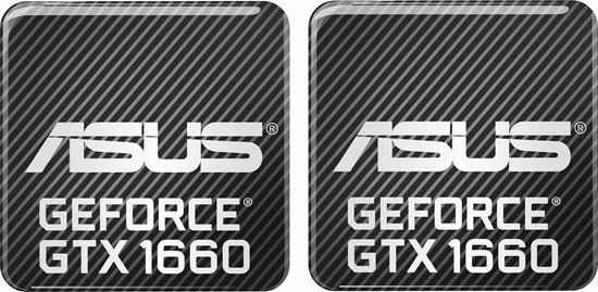 Picture of Asus Geforce GTX 1660 Gel Badges