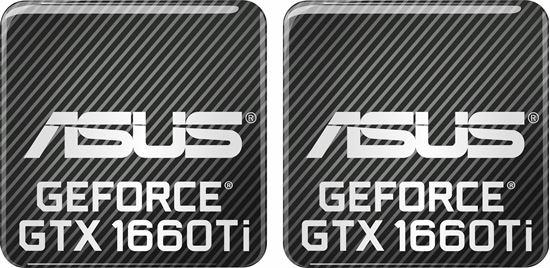 Picture of Asus Geforce GTX 1660Ti Gel Badges