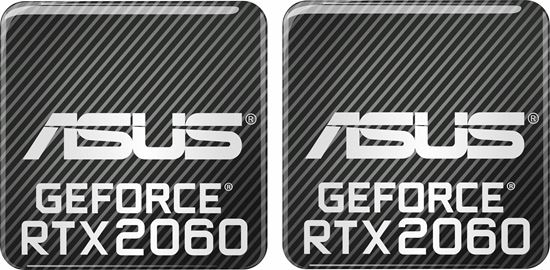 Picture of Asus Geforce RTX 2060 Gel Badges