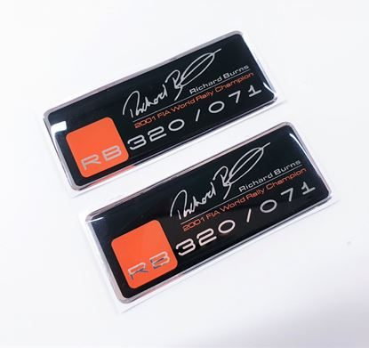 Picture of RB320 adhesive Gel Badges