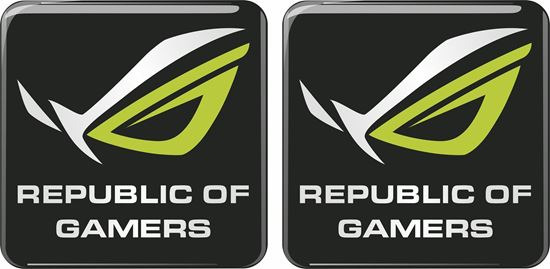Picture of Asus Republic of Gamers Gel Badges