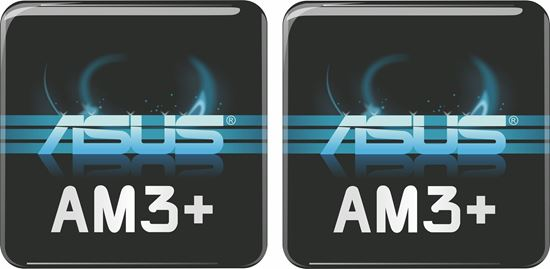 Picture of Asus AM3+ Gel Badges